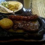 Mixed grill combo
