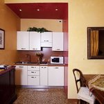 Kitchenette in the livingroom