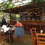 Kosher breakfast in Polly restaurant