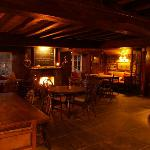 Log fire and great food and ales await!!