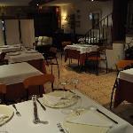 Comedor del restaurante de La Alqueria