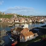 Typical view of east side of Whitby taken not far from the Chiltern Guest House