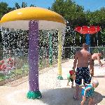 Splash park....excellent and very clean,