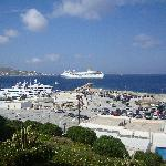 Port View from Porto Mykonos hotel
