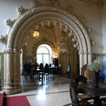 Part of the reception hall Bussaco Palace Hotel