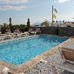hotel bw cannes riviera / simmingpool / 7. etage (dach)