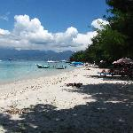 The beach in front of Balenta