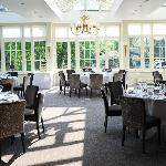 Views from the Lake Restaurant at St Michael's Manor
