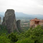 les météors et leur monastère