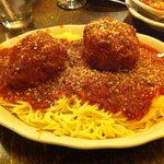 Spaghetti and Meatballs- YUM!