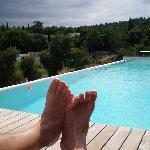 la piscina incantevole