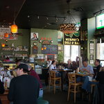 Murphy's can seat around a hundred people for drinks, appetizers, sandwiches, salads, and desser