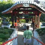 Entrance to the Pagoda Bar at Yamashiro