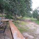 Patio, Picknic Table, Bandstand & Fire Pit