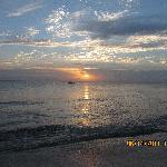 sunset at Albertos