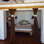 Une des pièces du bungalow