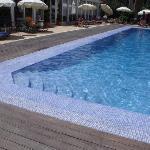 pool enterence