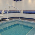 Hydrotherapy pool at the St Anne's Hotel