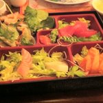 this is the sashimi platter,