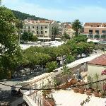 View from balcony ofTown Square, Argostoli