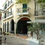 Entrance Of Hotel Mirabel from Town Square
