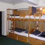 12 bed mixed dorm- in basement