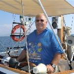 Myself at the Helm.