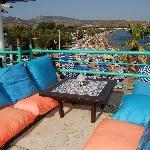 Terrace and Beach
