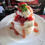Individual Strawberry Pavlova - Lovely to look at and almost too good to eat