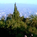 Santiago vista Cerro San Cristóbal