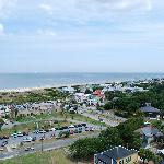 full view of Tybee North Beach (taken from lighthouse!)