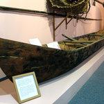 Cottonwood Canoe Display