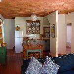 Great Ocean Road, Lorne. Open plan kitchen and living areas with front and rear balconies