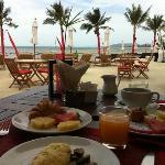 amazing breakfast at the Beach Republic!
