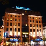 Novotel Vilnius - by night
