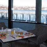 Breakfast at Kirkenes Thun hotel