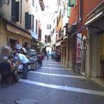 Street in Garda.