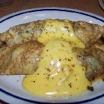 Chicken Stuffed Crepes