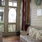 closed-in porch