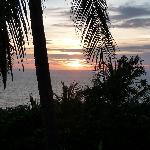 tramonto 2 dalla terrazza