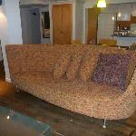 NewTone Suite's living room