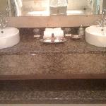 sinks with complementary soap