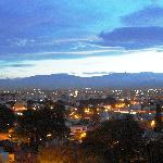 View of Salta at night