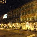 Marshall House at Night
