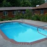 After a summer day touring the Black Hills, enjoy a dip in the pool.