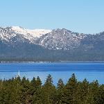 view from my room at Harrah's South Lake Tahoe