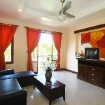 Apartment 1 Bed Room - Living Room -