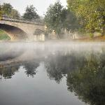 La vue sur l'Yonne