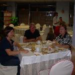 Sala della colazione all'Hotel Celuisma Alisas di Santander