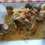 the Hake with Canarian potatoes